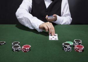 Man Dealing Cards   Casino Parties New York City   Long Island NY