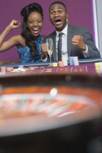 Couple Winning at Casino | Casino Parties NYC | LI
