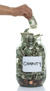 Giving Money to Charity | Casinos by M&M