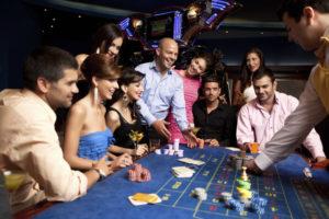 Friends Winning at Casino | Casino Party Companies Long Island NY | New York City