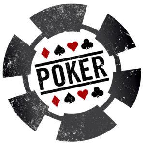 Poker Chip Stamp   Casino Party Companies New York City   Long Island NY