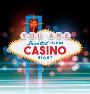 Las Vegas Sign Invitation | Casino Theme Parties NYC | Long Island