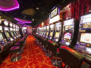 Slot Machine Row | Casino Theme Parties Long Island | NYC