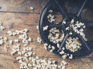 Film Reel with Popcorn | Casino Theme Parties Long Island