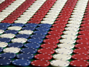 Poker Chips in American Flag Design | Casinos by M&M
