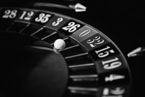 Black and White Roulette Wheel   Casino Parties NYC