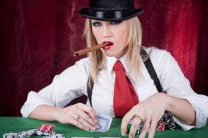 Poker Girl | Casino Holiday Parties Long Island NY | NYC