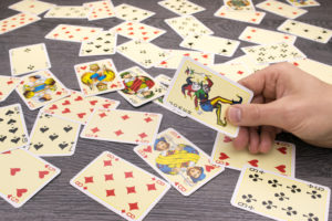 All Playing Cards on Table   Casino Party Companies New York City