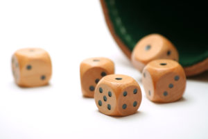 Wooden Dice | Casino Party Companies New York City | Long Island NY