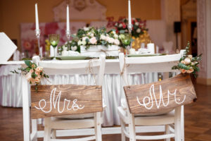 Mr. And Mrs. Wedding Table | Casino Theme Parties Long Island | NYC