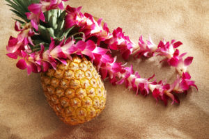 Luau Party | Pineapple and Lei | Summer Party Themes | Casino Party Entertainment