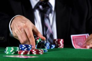 Man Playing Poker | Casino Party Companies New York City | Long Island NY