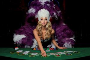 Girl Working at Casino | Casino Theme Parties Long Island | NYC