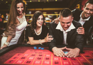 People Playing Poker | Casino Party Companies NYC | LI
